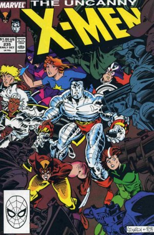Uncanny X-Men 235 - Welcome to Genosha... a Green and Pleasent Land...