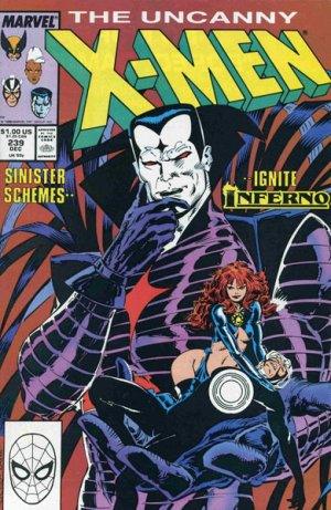 Uncanny X-Men # 239 Issues V1 (1963 - 2011)