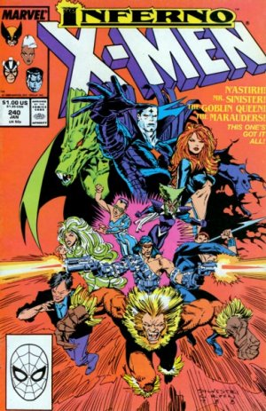 Uncanny X-Men # 240 Issues V1 (1963 - 2011)