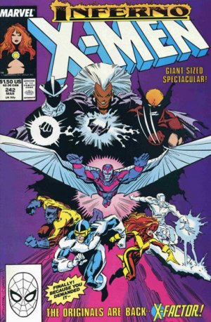 Uncanny X-Men # 242 Issues V1 (1963 - 2011)