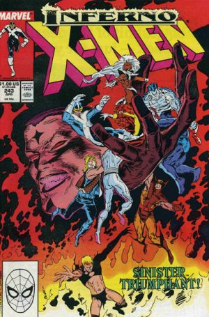 Uncanny X-Men # 243 Issues V1 (1963 - 2011)