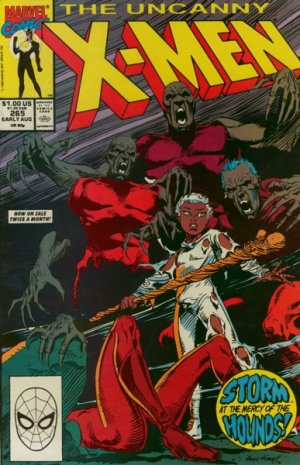 Uncanny X-Men # 265 Issues V1 (1963 - 2011)