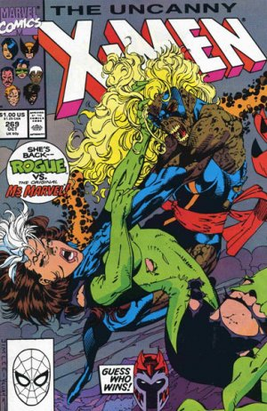 Uncanny X-Men # 269 Issues V1 (1963 - 2011)