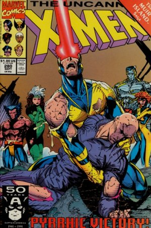 Uncanny X-Men # 280 Issues V1 (1963 - 2011)