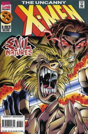 Uncanny X-Men # 326 Issues V1 (1963 - 2011)