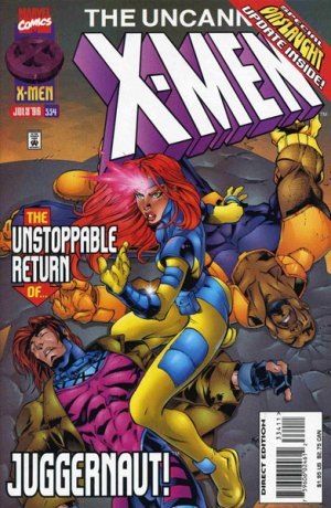Uncanny X-Men # 334