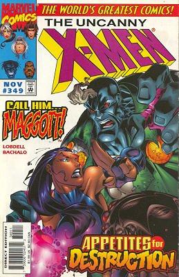 Uncanny X-Men # 349