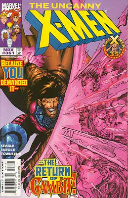 Uncanny X-Men 361 - Thieves in the Temple