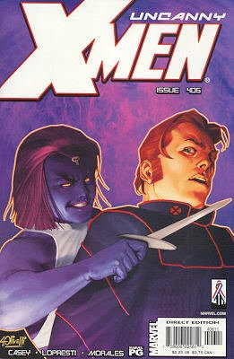 Uncanny X-Men # 406 Issues V1 (1963 - 2011)