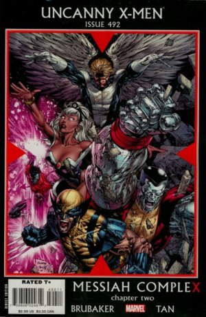 Uncanny X-Men # 492