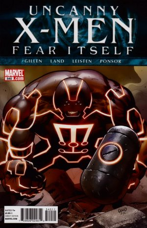 Uncanny X-Men 540