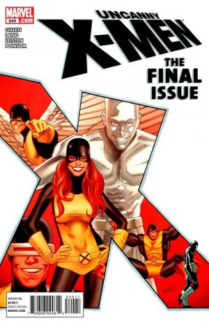 Uncanny X-Men # 544
