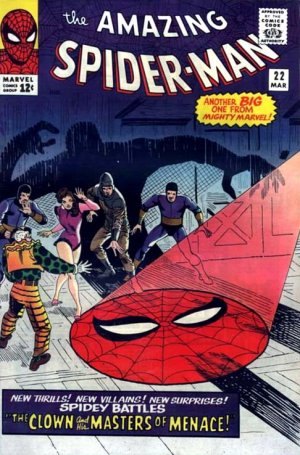 The Amazing Spider-Man 22 - The Clown and His Masters of Menace