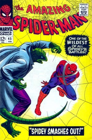 The Amazing Spider-Man 45 - Spidey Smashes Out!