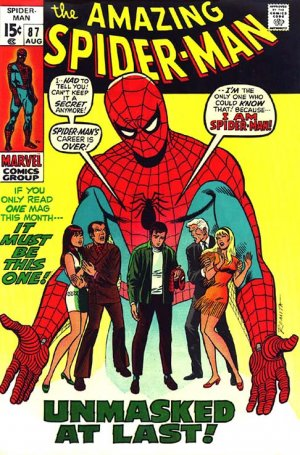 The Amazing Spider-Man # 87 Issues V1 (1963 - 1998)