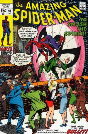 The Amazing Spider-Man # 91 Issues V1 (1963 - 1998)
