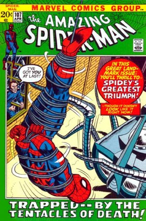 The Amazing Spider-Man # 107 Issues V1 (1963 - 1998)
