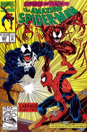 The Amazing Spider-Man # 362 Issues V1 (1963 - 1998)
