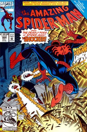 The Amazing Spider-Man 364 - The Pain of Fast Air