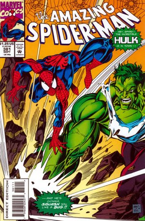 The Amazing Spider-Man # 381 Issues V1 (1963 - 1998)