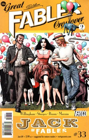 Jack of Fables # 33 Issues (2006 - 2011)