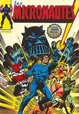 Les Micronautes édition Kiosque (1980 - 1983)