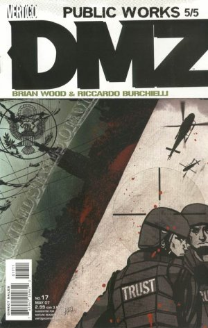 DMZ # 17 Issues (2006 - 2011)