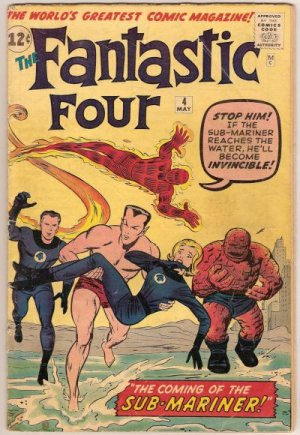 Fantastic Four 4 - The Coming of... Sub-Mariner!