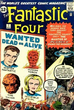 Fantastic Four 7 - Prisoners of Kurrgo, Master of Planet X