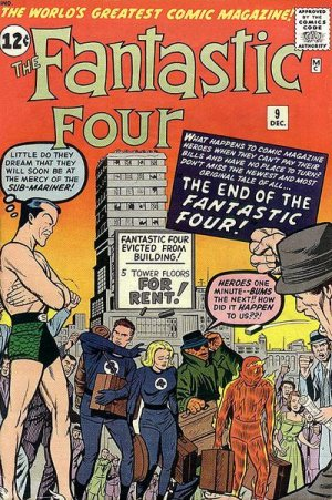 Fantastic Four # 9 Issues V1 (1961 - 1996)