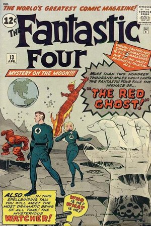 Fantastic Four 13 - The Red Ghost