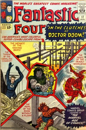 Fantastic Four 17 - Defeated By Doctor Doom!
