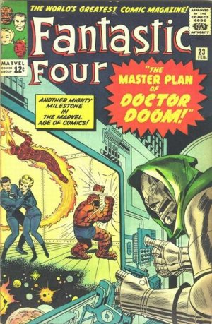 Fantastic Four # 23 Issues V1 (1961 - 1996)