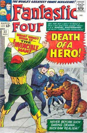 Fantastic Four # 32 Issues V1 (1961 - 1996)