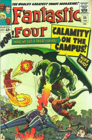 Fantastic Four 35 - Calamity on the Campus !