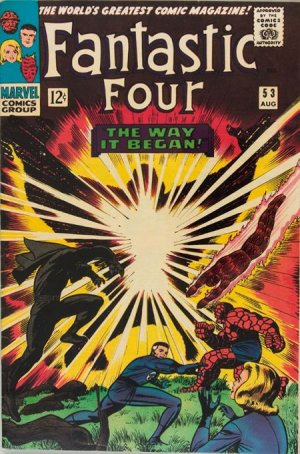 Fantastic Four # 53 Issues V1 (1961 - 1996)