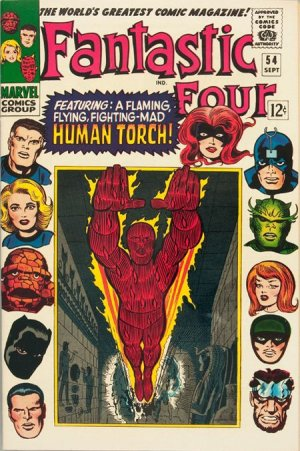 Fantastic Four # 54 Issues V1 (1961 - 1996)