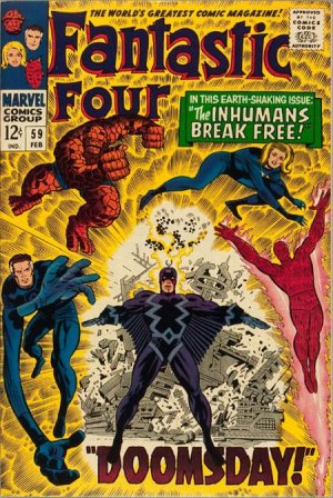 Fantastic Four # 59 Issues V1 (1961 - 1996)