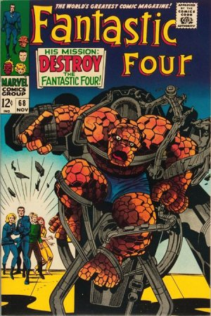 Fantastic Four # 68 Issues V1 (1961 - 1996)