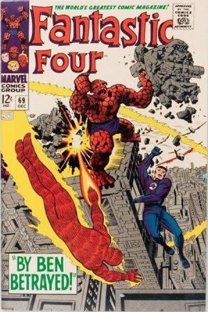 Fantastic Four # 69 Issues V1 (1961 - 1996)
