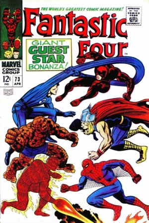 Fantastic Four # 73 Issues V1 (1961 - 1996)