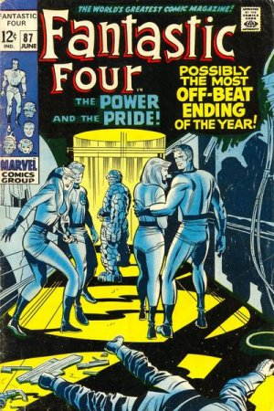 Fantastic Four # 87 Issues V1 (1961 - 1996)