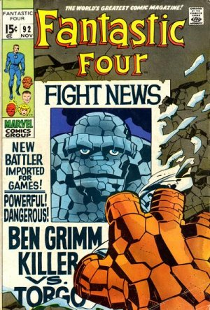 Fantastic Four # 92 Issues V1 (1961 - 1996)