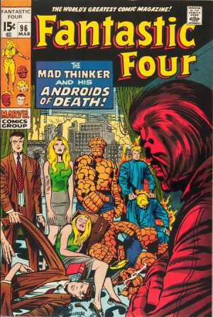 Fantastic Four 96 - The Mad Thinker and His Androids of Death !