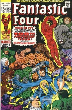 Fantastic Four # 100 Issues V1 (1961 - 1996)