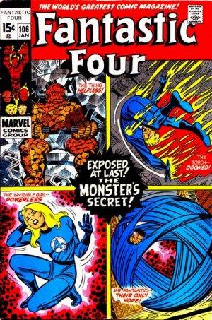 Fantastic Four # 106 Issues V1 (1961 - 1996)