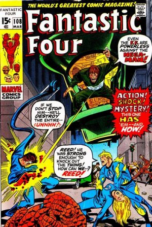 Fantastic Four # 108 Issues V1 (1961 - 1996)