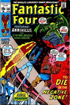 Fantastic Four # 109 Issues V1 (1961 - 1996)