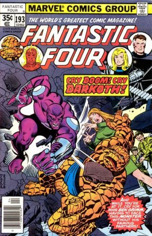 Fantastic Four # 193 Issues V1 (1961 - 1996)