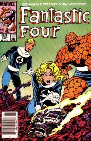 Fantastic Four 260 - When Titans Clash!